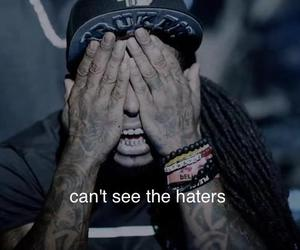 lil wayne, haters, and quote image