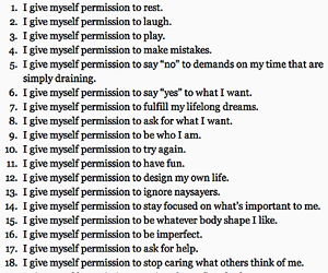 permission, life, and words image