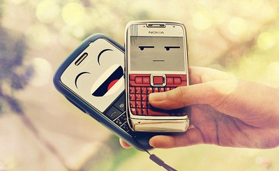 cellphone, funny, and cute image