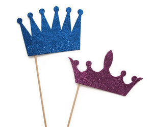 crowns, photobooth props, and photo booth props image