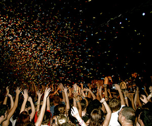 confetti, crazy, and party image