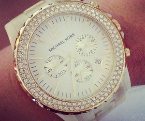 watch, Michael Kors, and white image