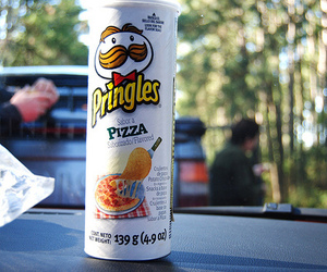 pringles, food, and pizza image