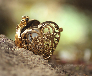heart, vintage, and necklace image
