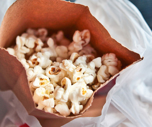 popcorn, food, and photography image