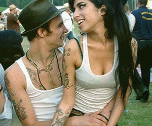 Amy Winehouse, amy, and couple image
