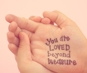 love, text, and hand image