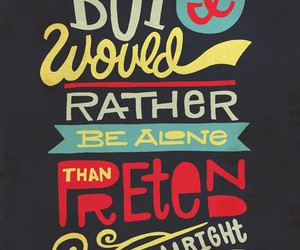 quote, life, and typography image