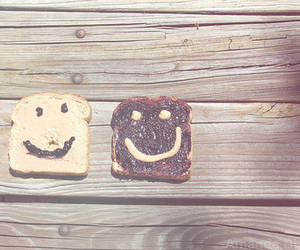 cute, bread, and smile image