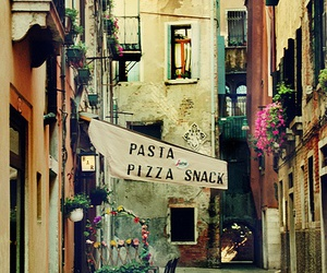 italy, pizza, and pasta image