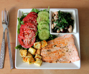 delicious, diet, and food image