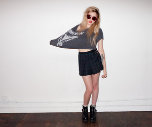 girl, sky ferreira, and grunge image