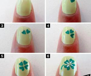 nails, green, and clover image