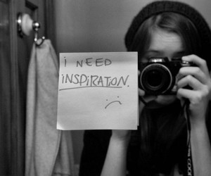girl, camera, and inspiration image