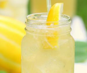 lemon, food, and lemonade image