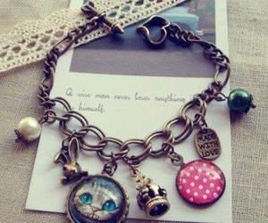 bracelet, accessories, and alice image