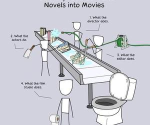 funny and books image