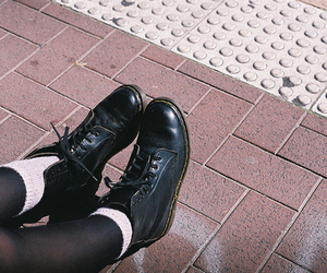 doc martens, vintage, and fashion image