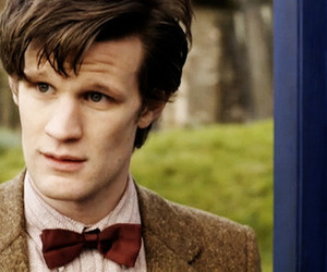 doctor who, 11th doctor, and bow ties are cool image