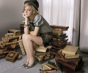 emma watson, book, and harry potter image