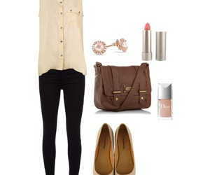 black jeans, dior, and skinny jeans image