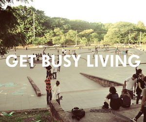 life, living, and busy image