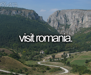 country, romania, and visit image