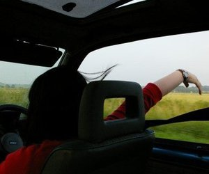 car, driving, and freedom image