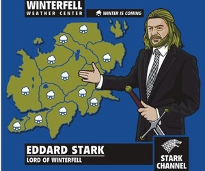 game of thrones, eddard stark, and funny image