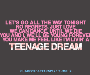 katy perry, Lyrics, and song image