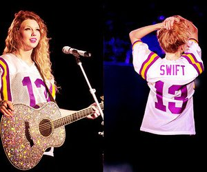 Taylor Swift, 13, and Swift image