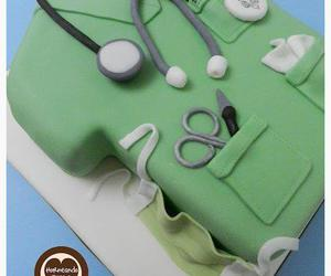 anatomy, cake, and doctor image
