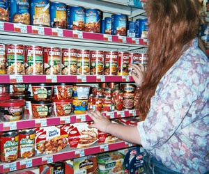 disposable, food, and girl image