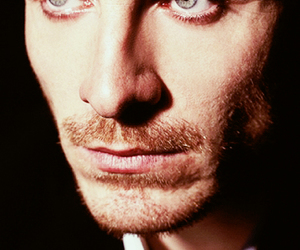 beautiful, eyes, and michel fassbender image