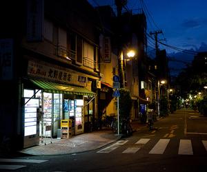 japan, night, and yanaka image