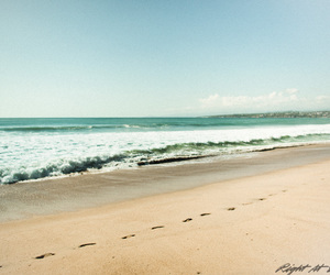 beach, photography, and wave image