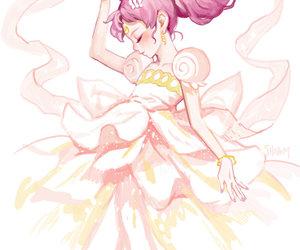 anime, sailor moon, and chibiusa image