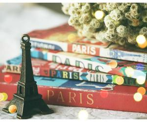 book, Dream, and eiffel tower image