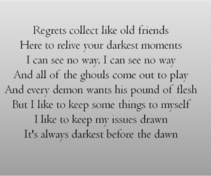 regret, florence + the machine, and shake it out image
