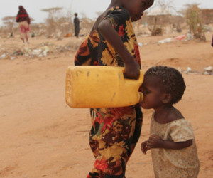 africa, water, and child image
