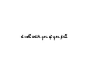 catch, fall, and quote image
