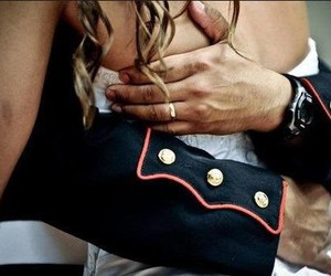 marine, two, and wedding inspiration image