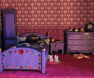 cosy, dollhouse furniture, and dollhouse image