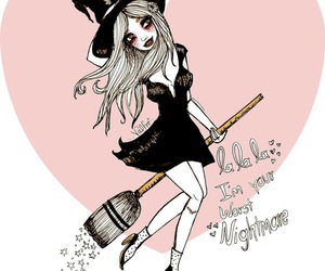 valfre, witch, and nightmare image