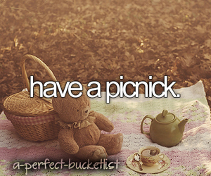picnick and love image