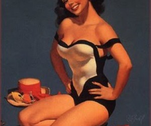 burlesque and Pin Up image