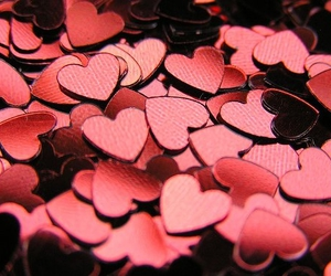 hearts and red image