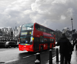 beautiful, bus, and photography image