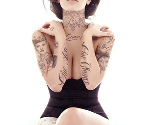 awesome, fake tattoos, and photoshop image
