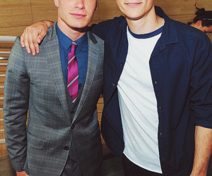 colton haynes, dylan o'brien, and teen wolf image